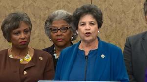 美国民主党女议员呼吁调查特朗普涉嫌性骚扰指控