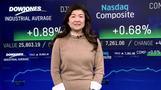 NY株最高値更新、企業決算や経済指標好感 (12日)