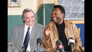 Former England goalkeeper Gordon Banks rates Pele 'the greatest'