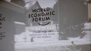 DAVOS TODAY: Trump visit 'a distraction' - Davos co-chair