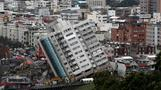 Aftershocks rattle Taiwan as quake death toll rises