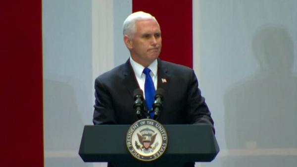 Pence says America 'with one heart' is praying for Florida victims