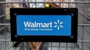 Walmart sinks as online sales growth slows