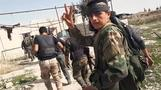 Syrian forces attempt to split rebel enclave in half