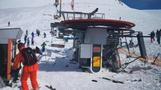 GRAPHIC: Skiers violently flung from malfunctioning ski lift