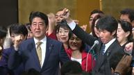 Shinzo Abe takes blame for loss of trust over scandal as polls dive