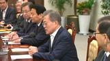 رئيس كوريا الجنوبية يقول من الممكن عقد قمة ثلاثية مع كوريا الشمالية وأمريكا