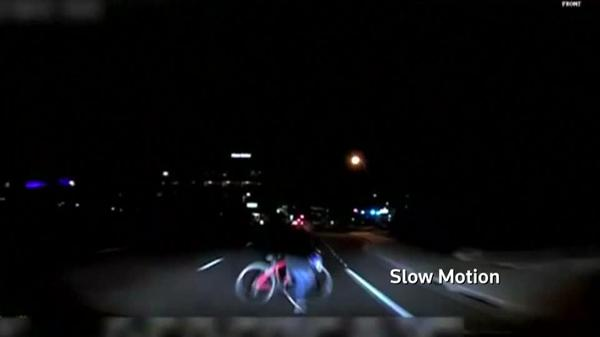 Arizona police release video of fatal self-driving car collision