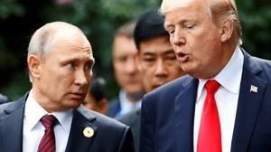 """特朗普祝贺普京连任 称可能在""""不久的将来""""会面"""