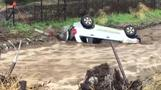 Heavy rain in California raises mudslide risk