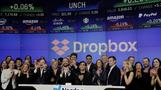 Dropbox soars in market debut