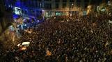 Katalonien: Heftige Zusammenstöße zwischen Demonstranten und Polizei