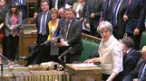 Theresa May says Syria strikes were in UK's 'national interest'