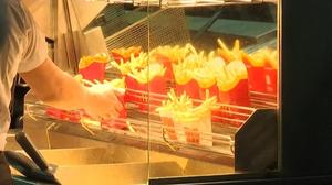 Falling rouble sees McDonald's French fries turn Russian