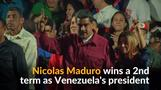 Venezuela's Maduro faces foreign backlash after re-election