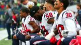 The NFL to fine teams if players kneel during anthem