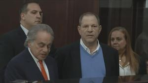 Accused rapist Weinstein released on bail
