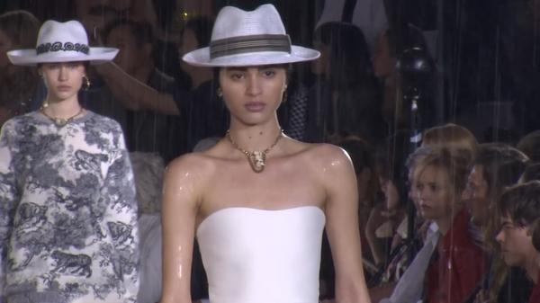 Dior brings equestrian glamour to the catwalk at French chateau