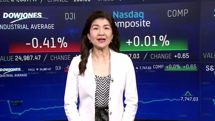 米中貿易摩擦懸念でダウ下落も、石油株上昇で下げ幅縮める(18日)