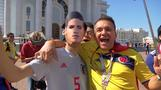 Colombian fans bring salsa spirit to Saransk