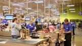 Kroger shares soar on strong outlook