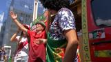Friends drive decorated van from Lisbon to Russia to cheer on Portugal