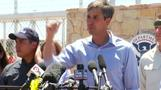 Congressman O'Rourke visits Texas tent camp