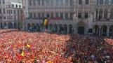 Belgium Red Devils receive hero's welcome after World Cup performance