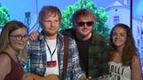 Ed-Sheeran-Double enthüllt Wachsfigur des Originals