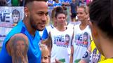 Neymar gives PSG fans a boost, says he wants to win Champions League
