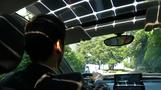 Solar powered car that charges as you drive