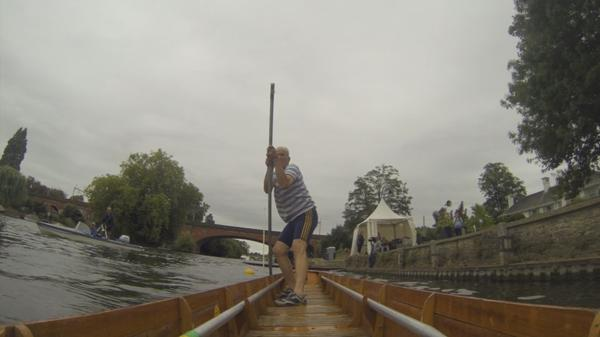 'Kit' take a punt in English river race