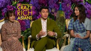 'Crazy Rich Asians' cast talk box office race