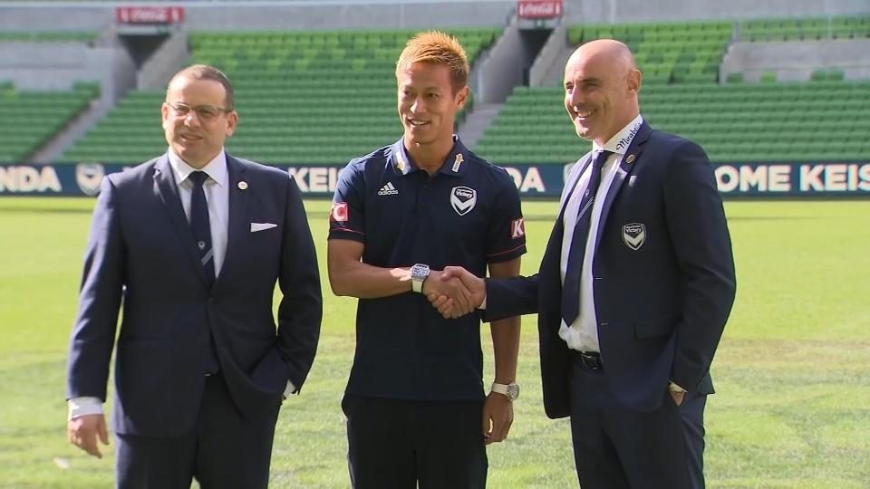 Japan's Keisuke Honda signs with Australia's Melbourne Victory
