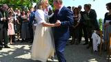 Putin on the Ritz at Austrian minister's wedding