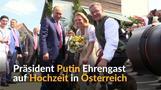Putin Gast bei Hochzeit der österreichischen Außenministerin
