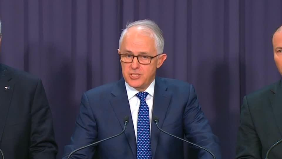Australian PM Turnbull waters down climate commitment