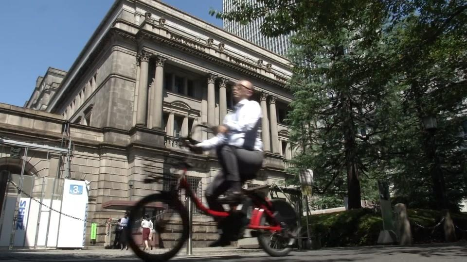 Bank of Japan holds policy despite trade perils