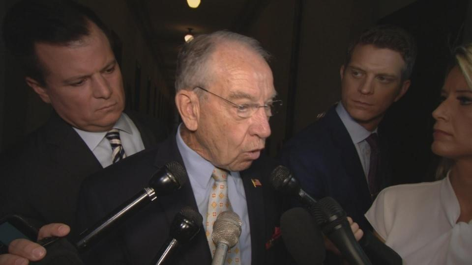 Grassley focused on getting Ford to testify