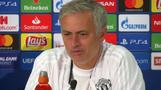 Mourinho happy after United Swiss stroll