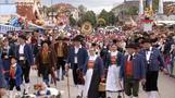 Trachten, Trommeln, Tradition - Wiesn-Höhepunkte in München