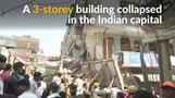 New Delhi building collapse kills multiple people, including children