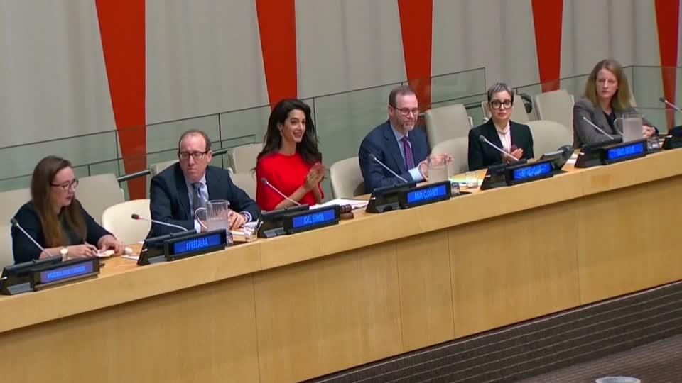 U.N. panel calls for release of Reuters journalists