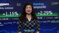 ハイテク株主導で、NY株反発 (12日)