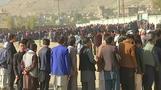 ناخبون أفغان لم يتمكنوا من الإدلاء بأصواتهم يعودون لمراكز الاقتراع