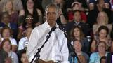 Obama hits the campaign trail for Democrats
