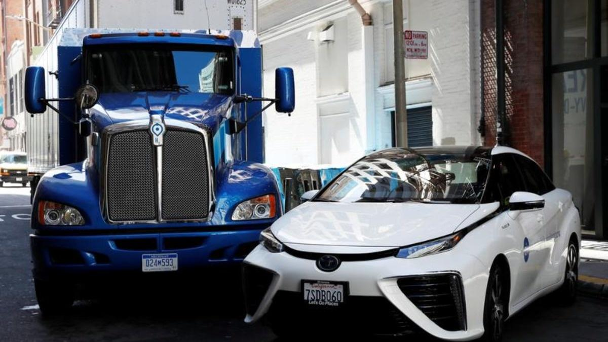 No head start for Tesla in the electric semi race