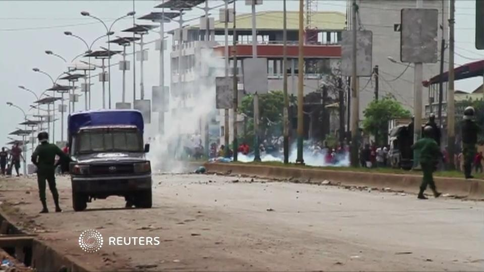 Protests turn violent in Guinea
