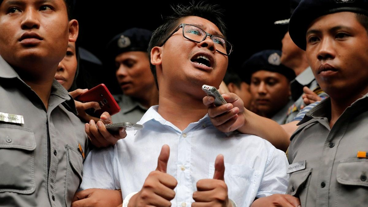 Reuters reporters appeal against conviction in Myanmar