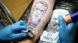 Russian political party is also free tattoo party